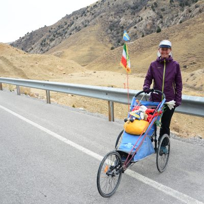 Alone through Iran